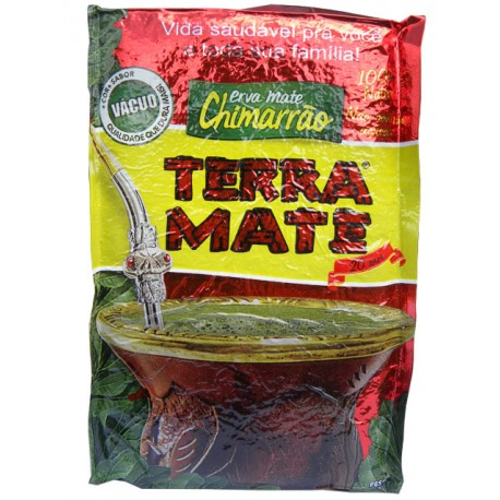 Erva Mate - Chimarrão Terra Mate -  Caixa 10x1 kg - Vácuo