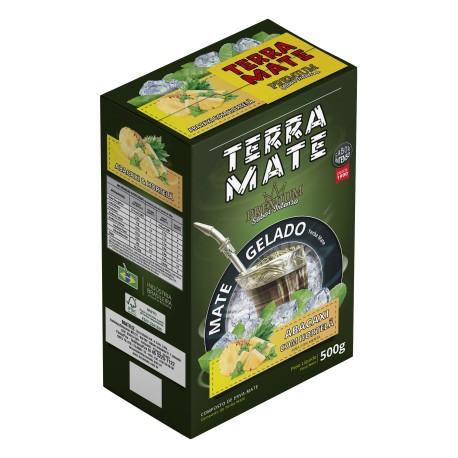 Terere Terra Mate - 500 gr - Menta com Limão - Sabor Premium