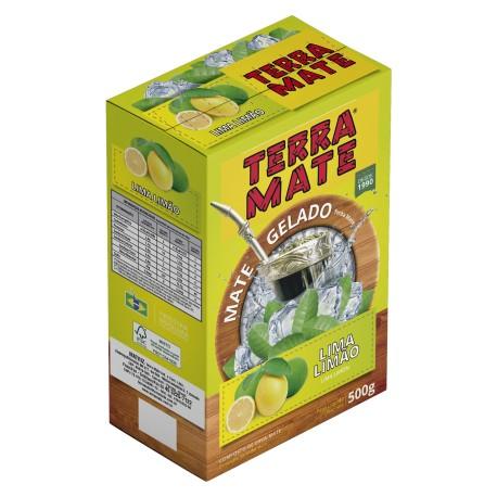 Terere Terra Mate - caixa 20x500 gr - Lima-Limão