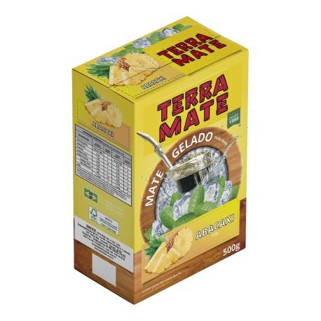 Terere Terra Mate - caixa 10x500 gr - Abacaxi