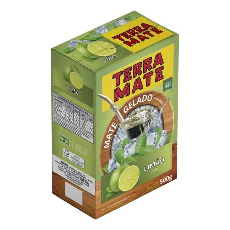 Terere Terra Mate - caixa 10x500 gr - Limão