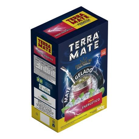Terere Terra Mate - caixa 20x500 gr - Sabor Energético - Sabor Premium
