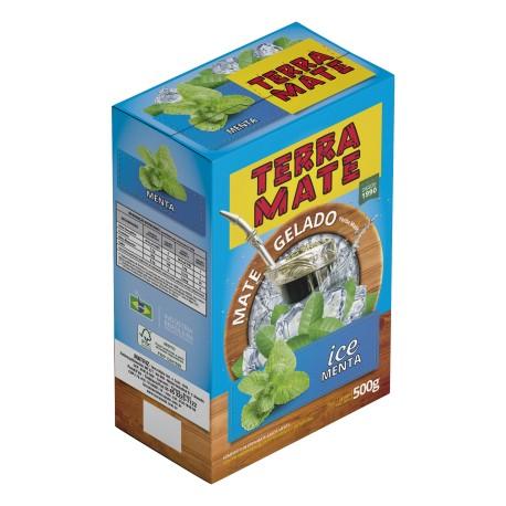 Terere Terra Mate - caixa 10x500 gr - ICE Menta