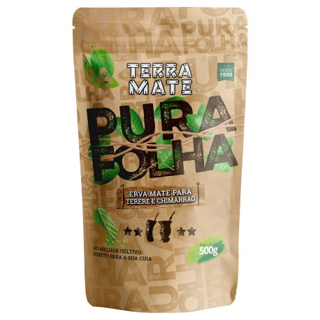 Erva-Mate - Pura Folha - 500g