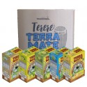 Terere Terra Mate - Caixa 20x500 g - Sortido Tradicional (4 Natural, 4 Abacaxi, 4 Lima-Limão, 4 Limão e 4 Menta)
